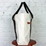 Albam SS2011 Tote2 150x150 Albam Ecro & Olive Canvas Tote Bag