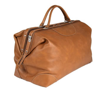 Calabrese Napoli Leather Doctors Bag 3 Calabrese Napoli Leather Doctors Bag