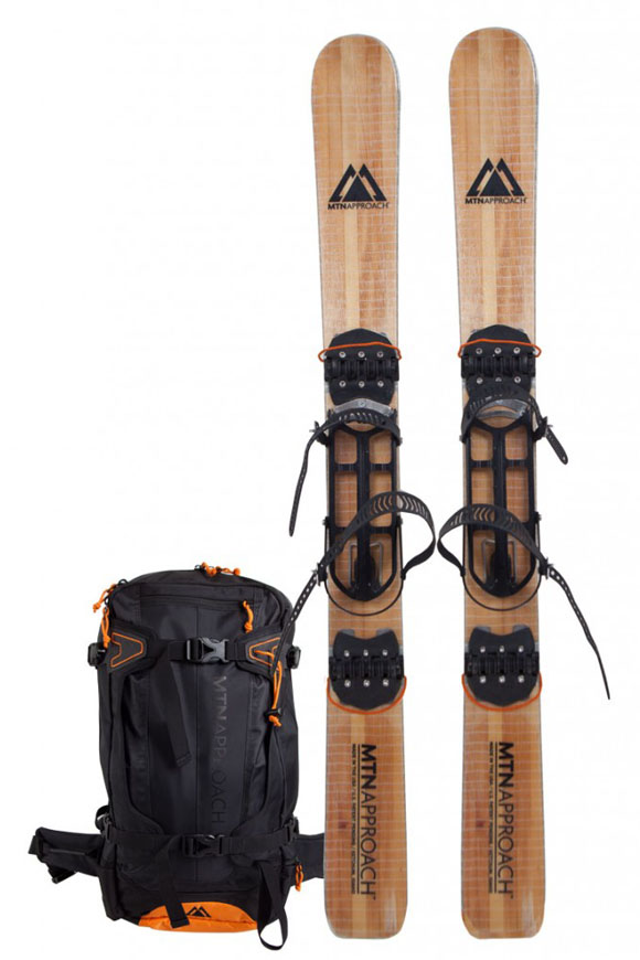 Mtn. Approach Folding Skis & Backpack