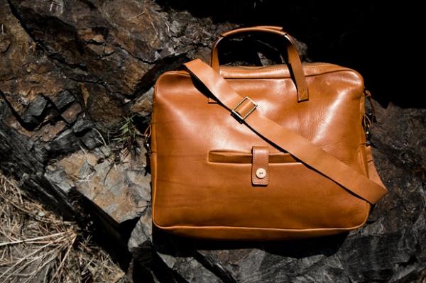 a kind of guise leather messenger bag 0 A Kind of Guise Leather Messenger Bag