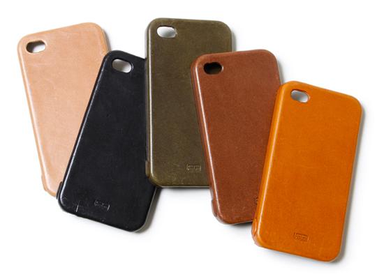 hobo full grain leather iphone case 1 Hobo Full Grain Leather iPhone Case