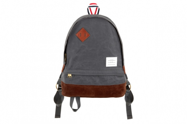 thom brown canvas backpack 1 Thom Brown Canvas Backpack