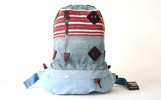 visvim papoose summit stripe 01 Visvim Summit Papoose Backpack