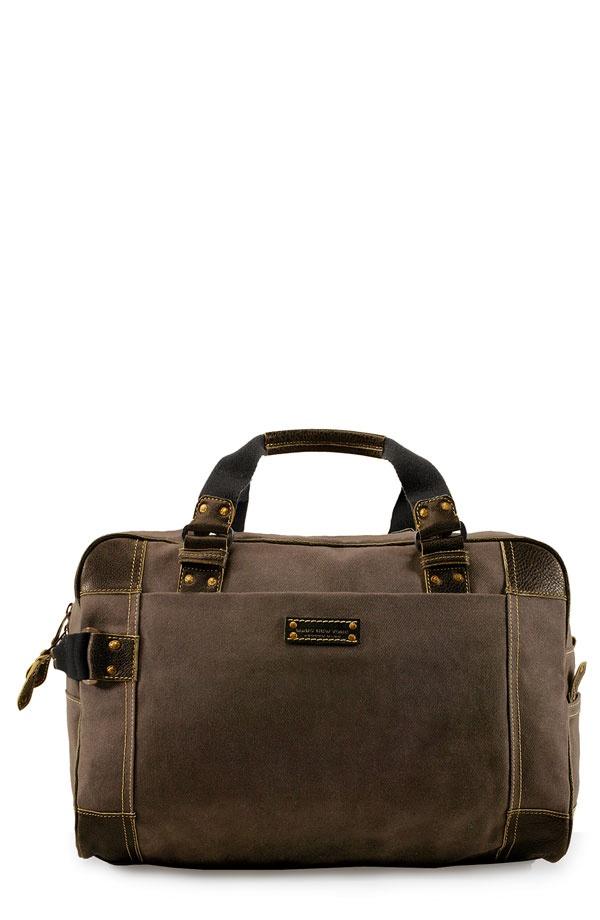 6516582 Marc New York Accessories Retro Waxed Twill Duffel Bag