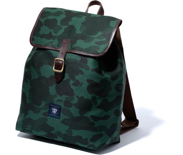 Bape St Season Camo Twill Backpack The Carry