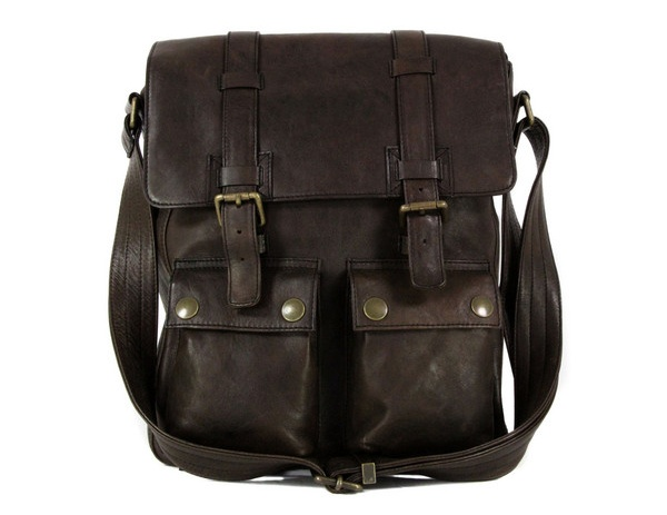Belstaff mens New Man Black Brown Bag 1 Belstaff New Man Black Brown Bag