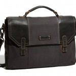 Marc New York Accessories &#039;Retro&#039; Waxed Twill Briefcase