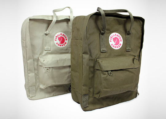 acehotel fjallraven backpacks 1 Ace Hotel x Fjällräven Kånken Pack
