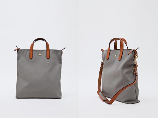 mismo shopper bag 01 Mismo Nylon Shopper Bag