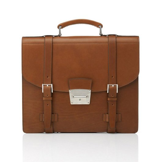 Dunhill Triple Document Satchel