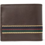 302697 mrp bk l 150x150 Gucci Regimental Striped Leather Wallet