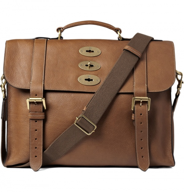 302778 mrp in xl Mulberry Ted Leather Satchel
