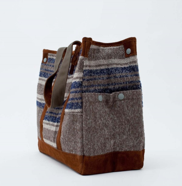 Porter White Mountaineering Wool Tote Bag 2 Porter x White Mountaineering Wool Tote