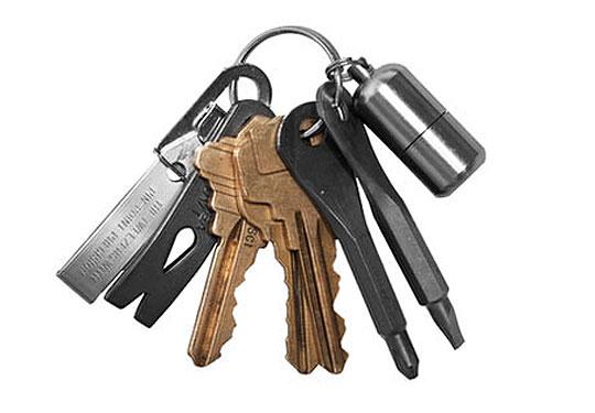 edc keychain 01 Kauffman Mercantile EDC Kit