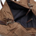 3905sand tommytripsand2 150x150 Property Of... Sand Waxed Cotton Weekender Bag