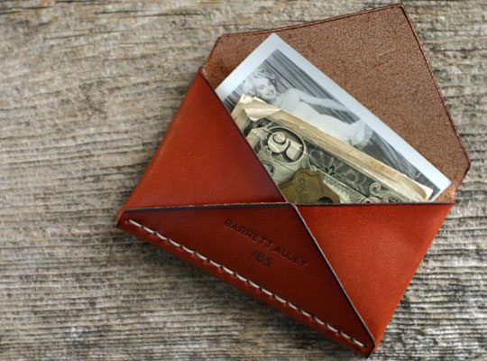 barrett alley envelope 00 Barrett Alley Disciple Wallet