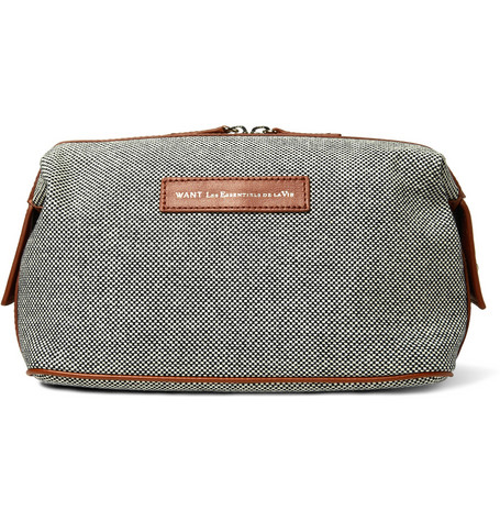 180884 mrp in l WANT Les Essentiels de la Vie Recycled Cotton Canvas Wash Bag