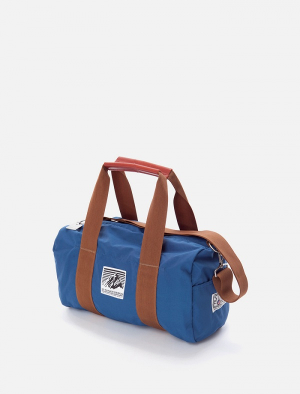 bag Mt. Rainier Design Electric Blue Duffle Bag
