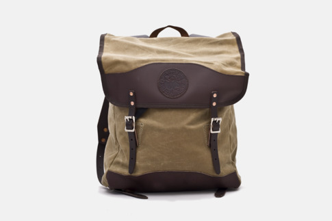 mg 7256 lo.1 Duluth Pack Scoutmaster Deluxe Wax Pack
