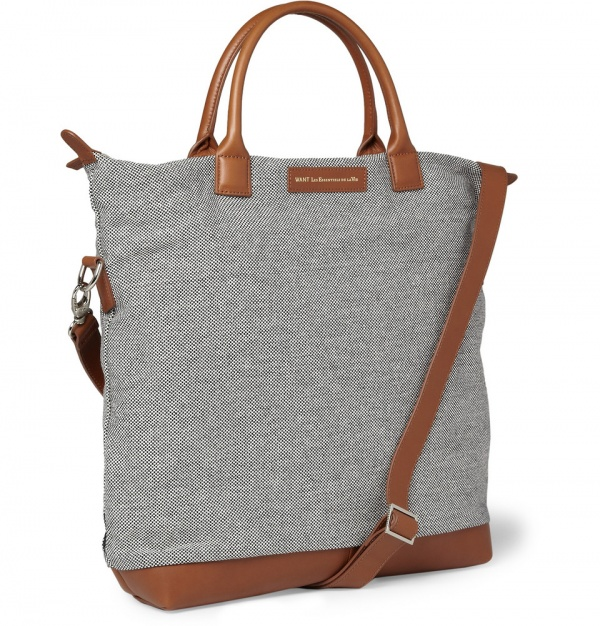 180882 mrp fr xl WANT Les Essentiels de la Vie OHare Woven Cotton Tote