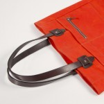 Tanner Goods Spring Summer 2012 Blaze Orange Tote Bag 05 150x150 Tanner Goods Spring/Summer 2012 Blaze Orange Waxed Canvas Tote