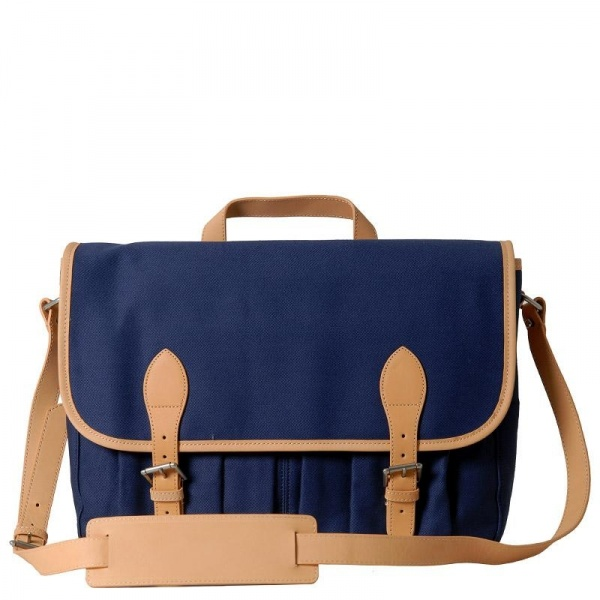 apc satchel blue1 A.P.C Spring/Summer Satchel
