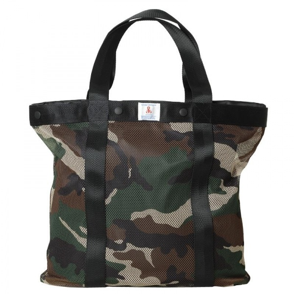 170212 soph bag1 SOPHNET. Camouflage Tote Bag