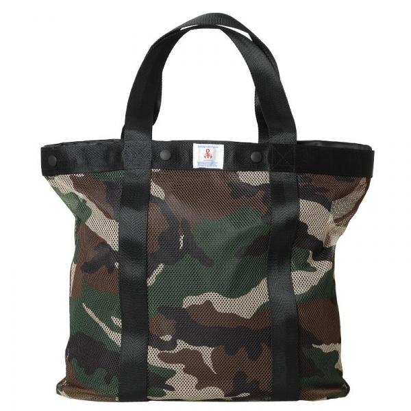 170212 soph bag1 SOPHNET. Camouflage Tote Bag