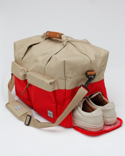 h1216504 waltoninred 5 Herschel Supply Co. Walton Duffle Bag