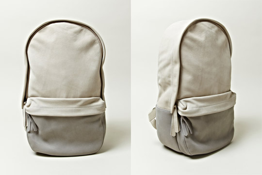 haerfest backpack 01 Haerfest Cowhide Spring/Summer 2012 Backpack