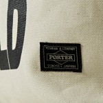 30 03 2012 whitemountaineering porter tote bag6 150x150 White Mountaineering x Porter Printed Message Tote Bag