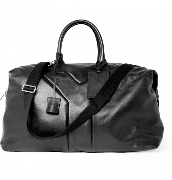 174970 mrp e2 xl Yves Saint Laurent Hamptons Leather Holdall Bag