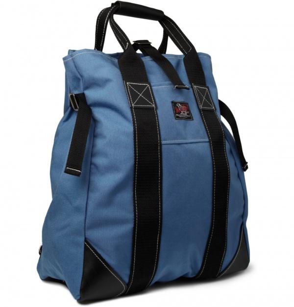 185884 mrp fr xl Woolrich Woolen Mills Convertable Canvas Tote Bag