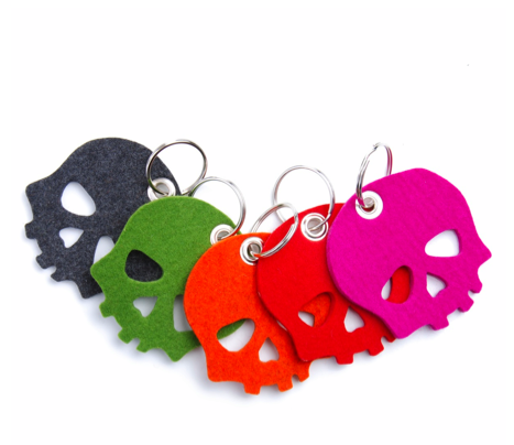 Picture 2 Skull Key Fobs by Graff & Lantz