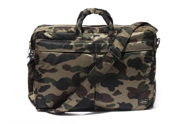 93f3f7a271dc A Bathing Ape x Porter 2012 Print 1st Camo Collection