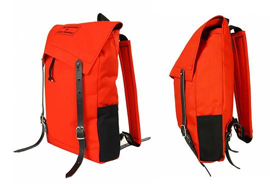 seil marschall oliver spencer rucksack 1 Seil Marschall for Oliver Spencer Canvas Red Mini Canoe Rucksack