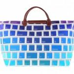 jeremy scott longchamp multicolored keyboard travel bag 3 150x150 Jeremy Scott x Longchamp Multi colored Keyboard Tote