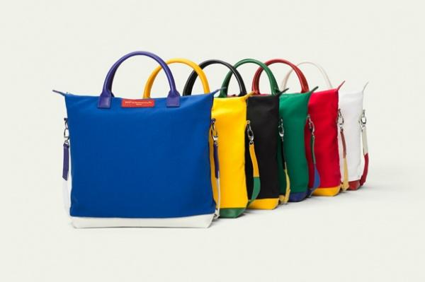 want les essentiels de la vie 2012 olympic tote bag collection 1 WANT Les Essentiels de la Vie Olympic Tote Bag Collection