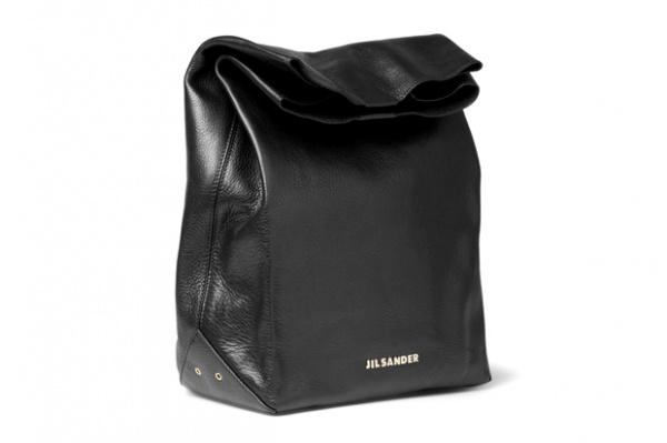 jil sander fall winter 2012 leather lunch bag 1 Jil Sander Fall/Winter 2012 Leather Lunch Bag