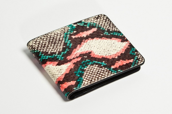 dries van noten 2012 water snake leather accessories 1 Dries Van Noten Water Snake 2012 Accessories