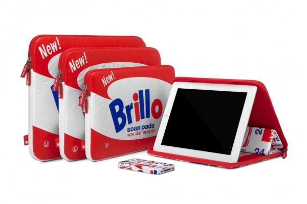 incase 2012 fall andy warhol brillo collection 1 Incase for Andy Warhol Fall 2012 Brillo Collection