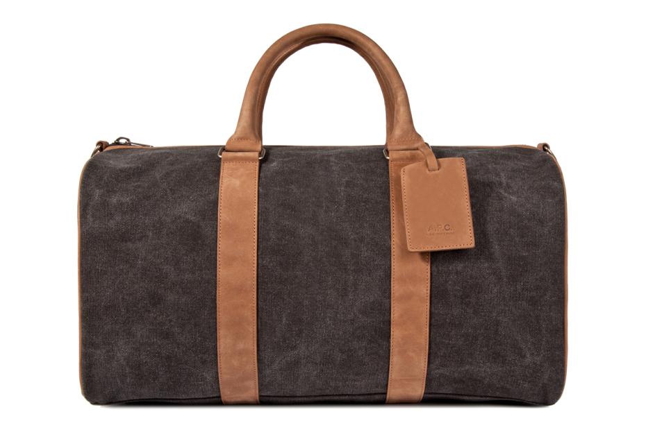 a p c black sac de voyage bag 1 A.P.C. Black Sac de Voyage Bag