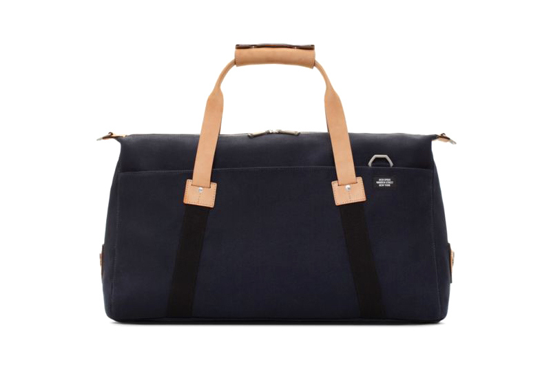united arrows jack spade soft duffle dipped coal bag 1 United Arrows x Jack Spade Soft Duffle and Dipped Coal Bag