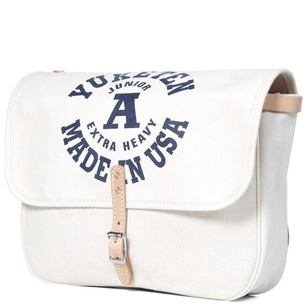 yuketen mailbag 6 630x630 Yuketen Natural Canvas Mailman Bag