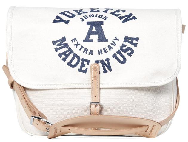 yuketen mailbag 8 Yuketen Natural Canvas Mailman Bag
