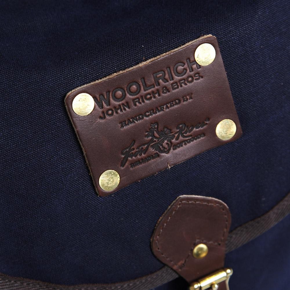 12 03 2013 woolrich knapsack navy5 Woolrich Navy Oiled Backpack