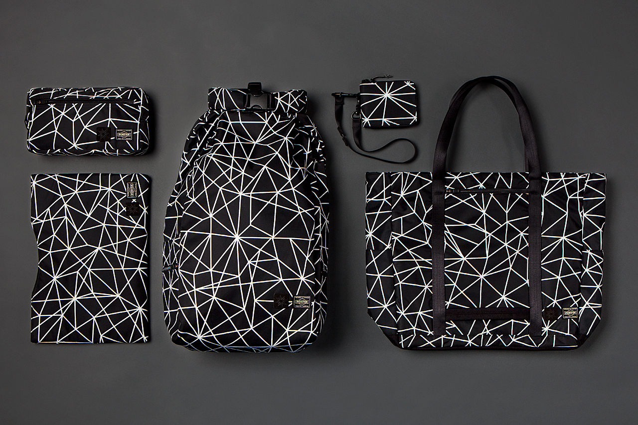 isaora x porter 2013 geo light bag collection 1 Isaora x Porter 2013 Geo Light Bag Collection