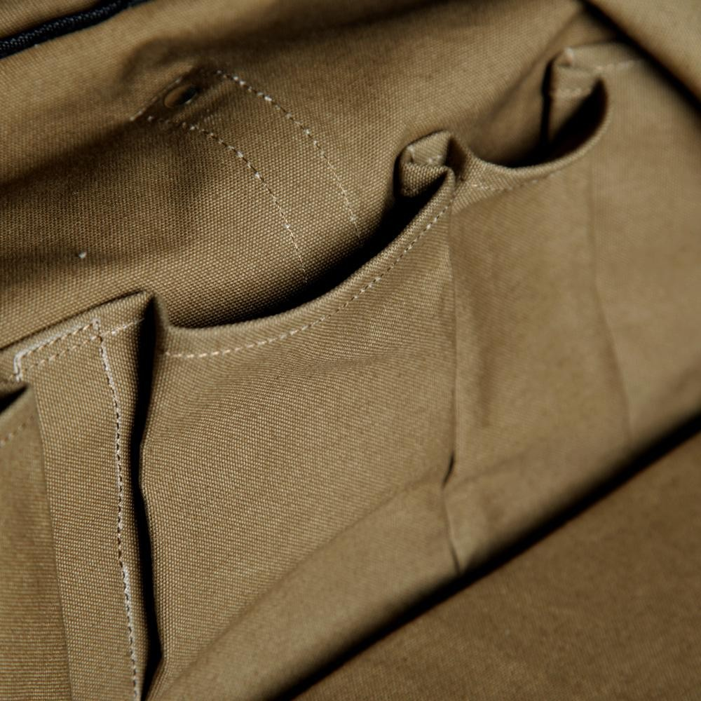 29 03 2013 cdgshirt canvastravelbag olive7 Comme des Garcons SHIRT Canvas Travel Bag