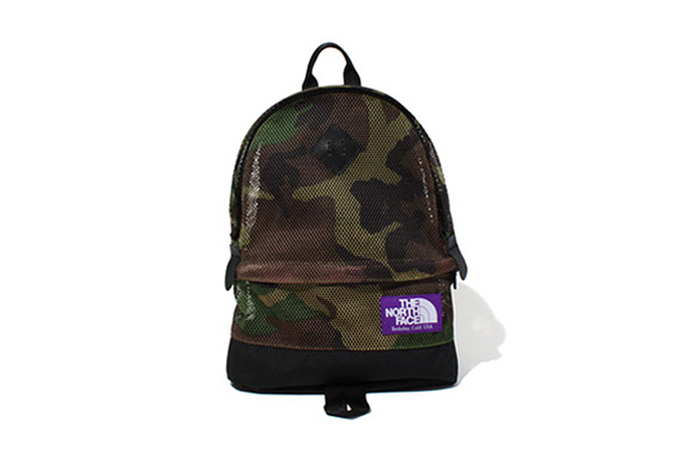the north face purple label 2013 spring summer camouflage mesh bag collectionn 1 The North Face Purple Label Camouflage Mesh Bag Collection