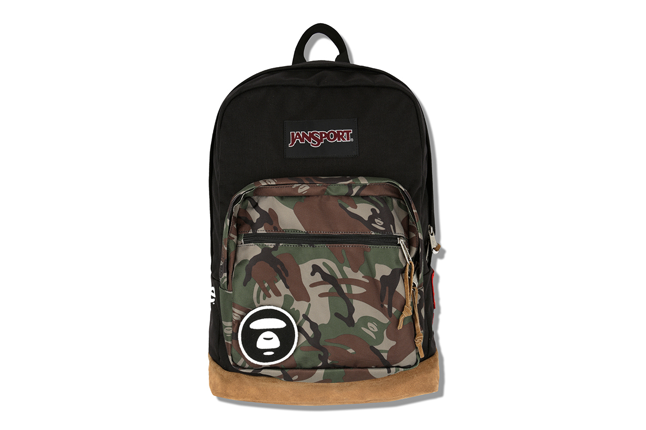 aape by a bathing ape x jansport 2013 capsule collection 1 AAPE by A Bathing Ape x Jansport Backpack
